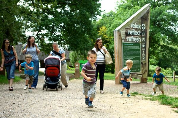 Families at Forest of Dean in Gloucestershire