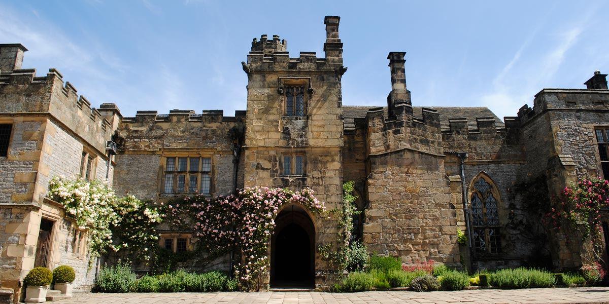 Haddon Hall in Derbyshire