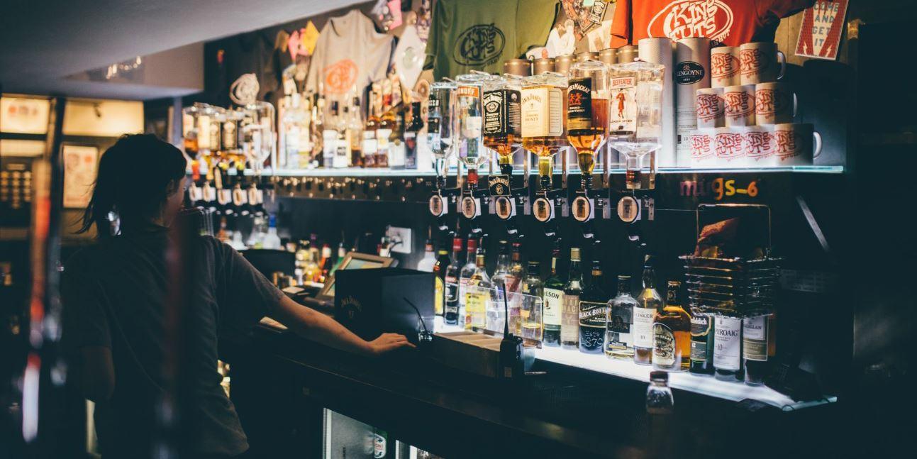 King Tut's Wah Wah Hut Bar in Glasgow