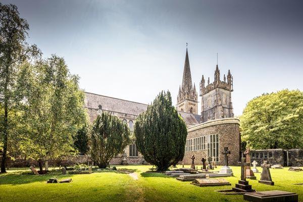 Llandaff Cathedral in Cardiff