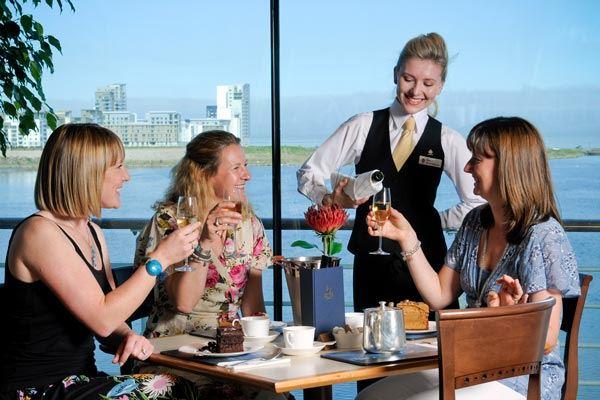 The Royal Deck Tea Room on the Royal Yacht Britannia