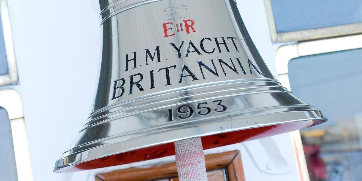 Bell on Royal Yacht Britannia