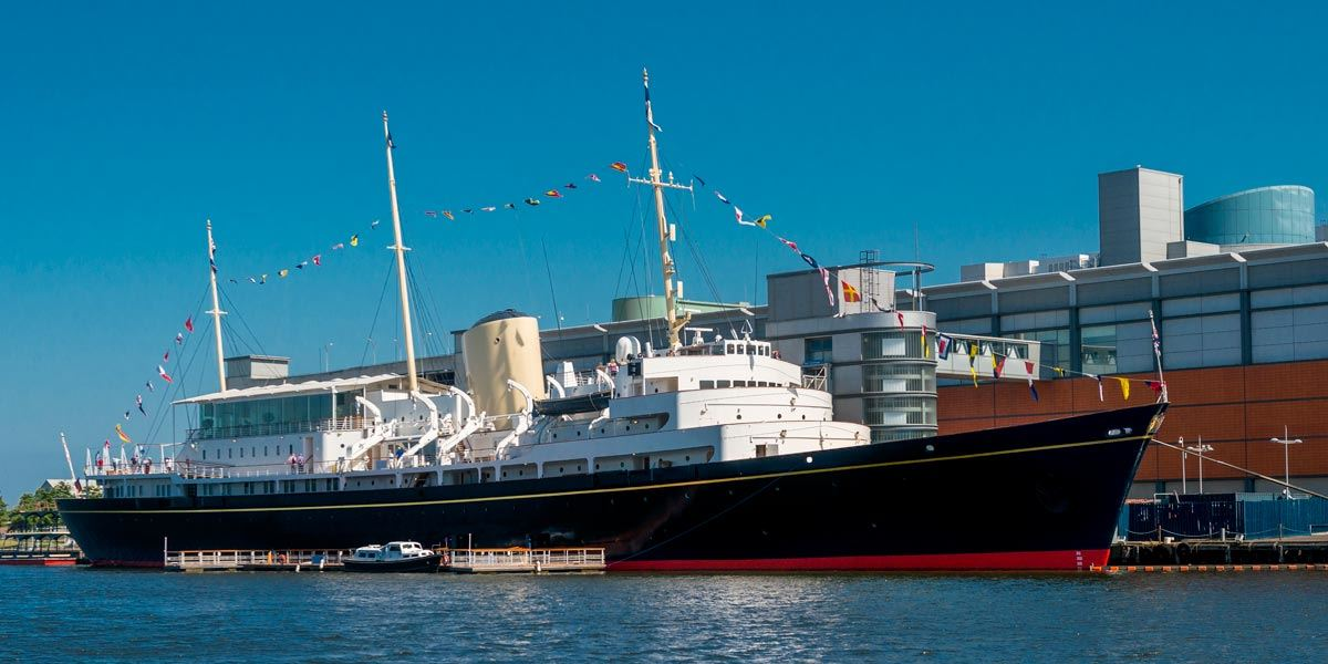 Royal Yacht Britannia, Leith, Edinburgh