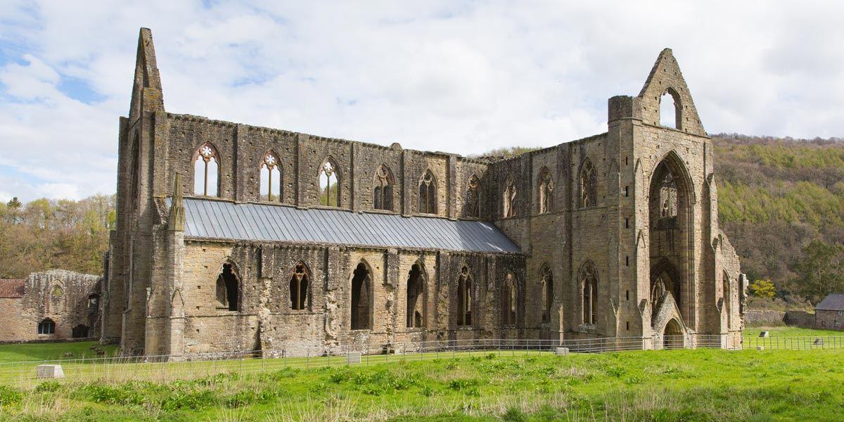 Tintern Abbey in Cardiff