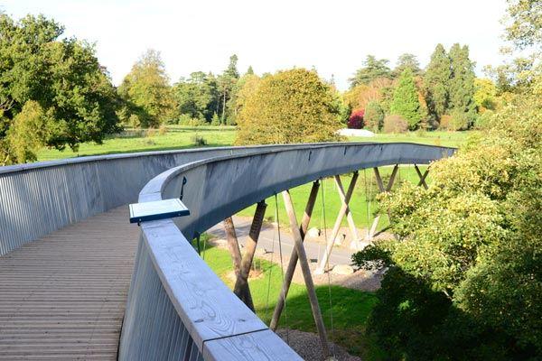 Westonbirt Arboretum Walkway in Gloucestershire