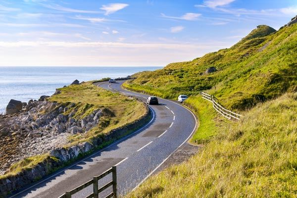 Causeway Coastal Route in Northern Ireland