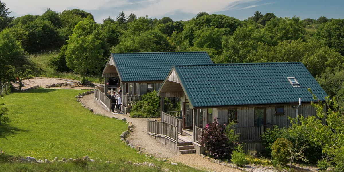 Ard Nahoo eco-retreat in County Leitrim