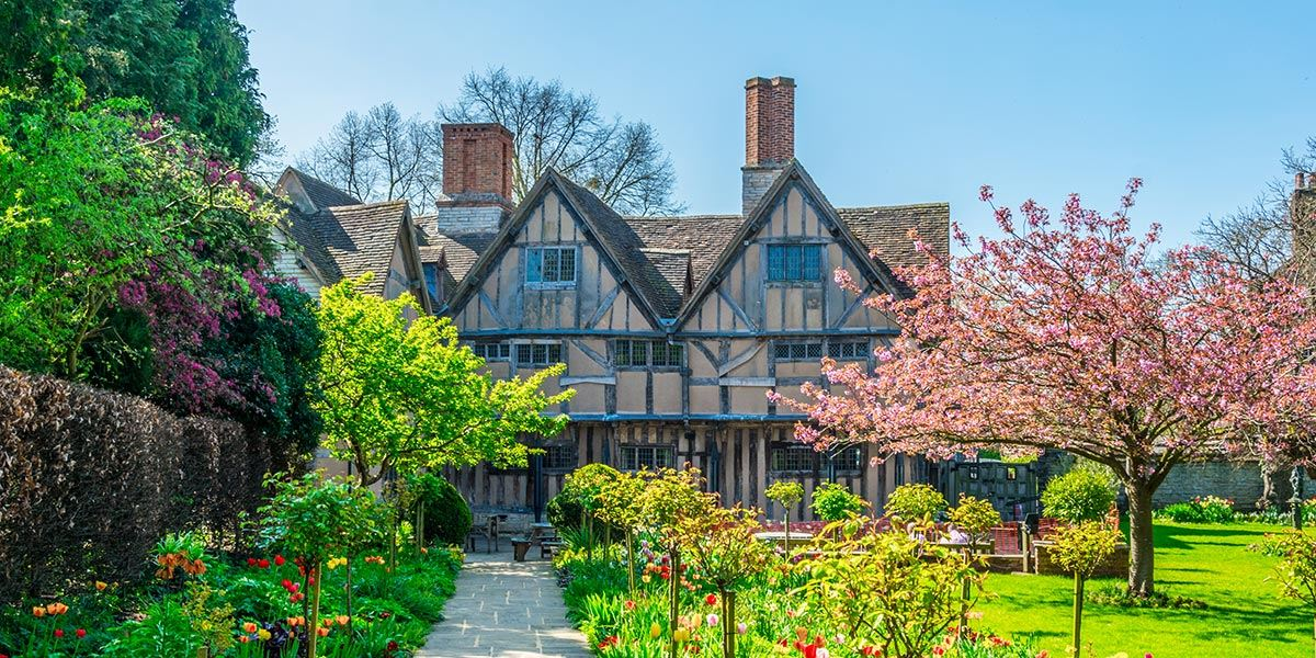 Hall's Croft, the home of William Shakespeare's daughter, Susanna Hall, Stratford-upon-Avon
