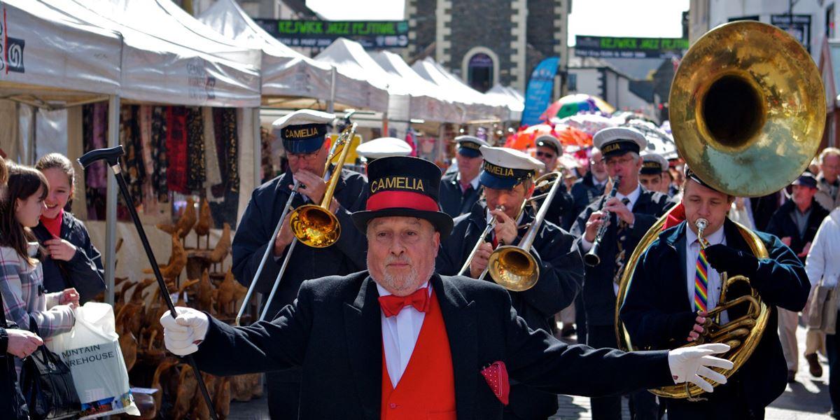 Keswick Jazz Festival in Cumbria