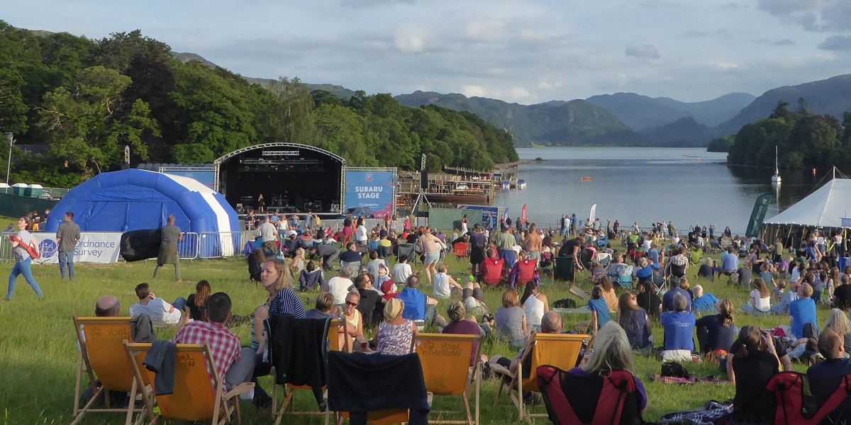 Keswick Mountain Festival in Cumbria