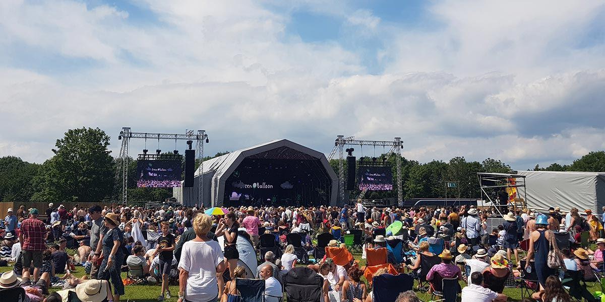Crowds at Love Supreme Festival, Brighton