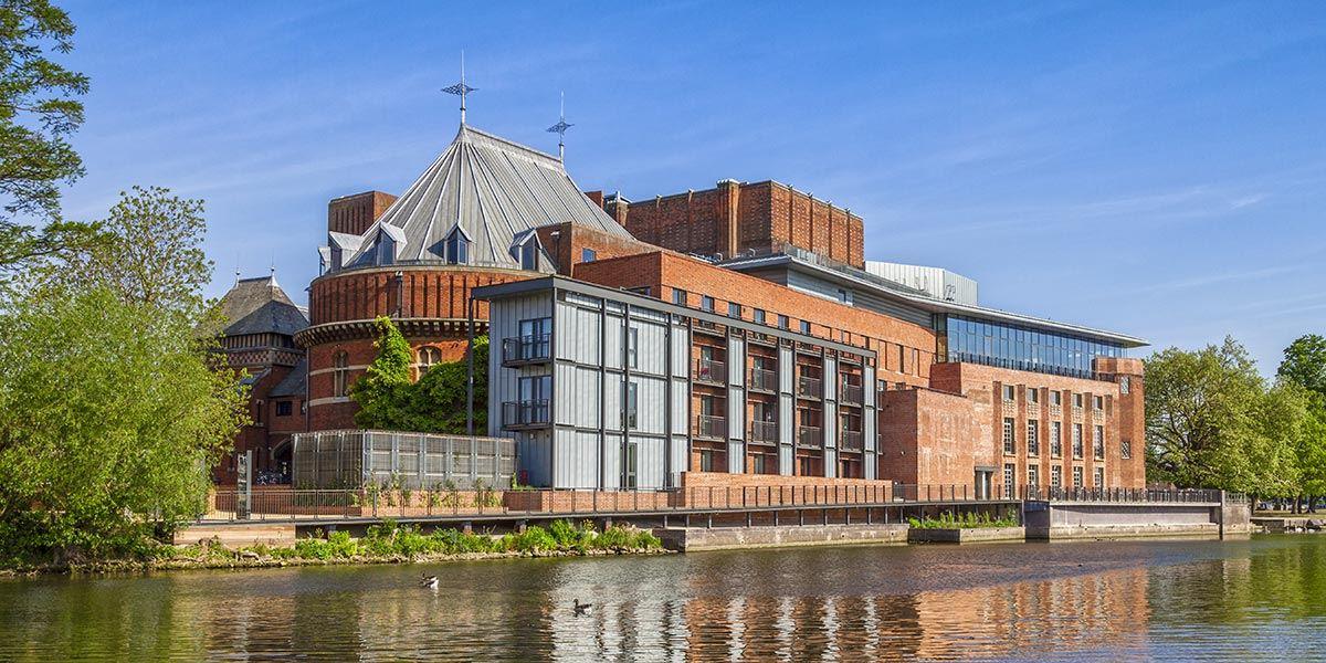 Royal Shakespeare Theatre exterior, Stratford-upon-Avon