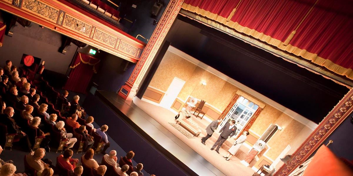 A show being performed at the Pomegranate Theatre and Cinema in Chesterfield, Derbyshire