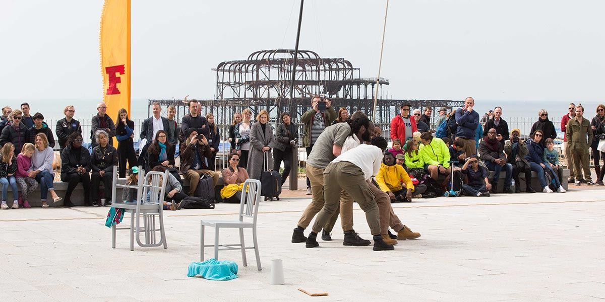 Without Walls performance at Brighton Festival