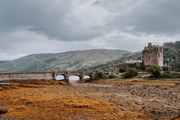 Eilean Donan Castle on the island of Skye