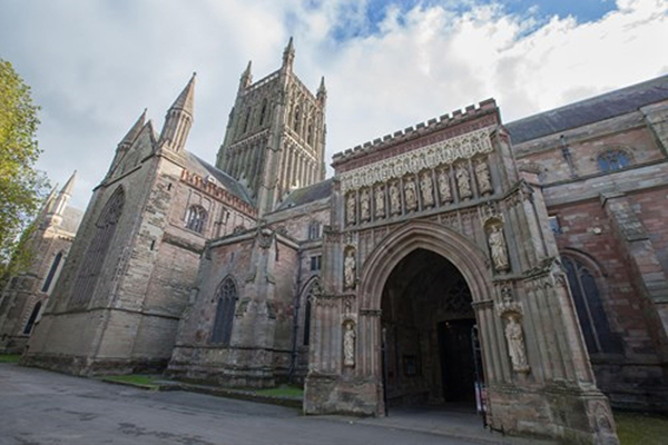 Worcester Cathedral exterior