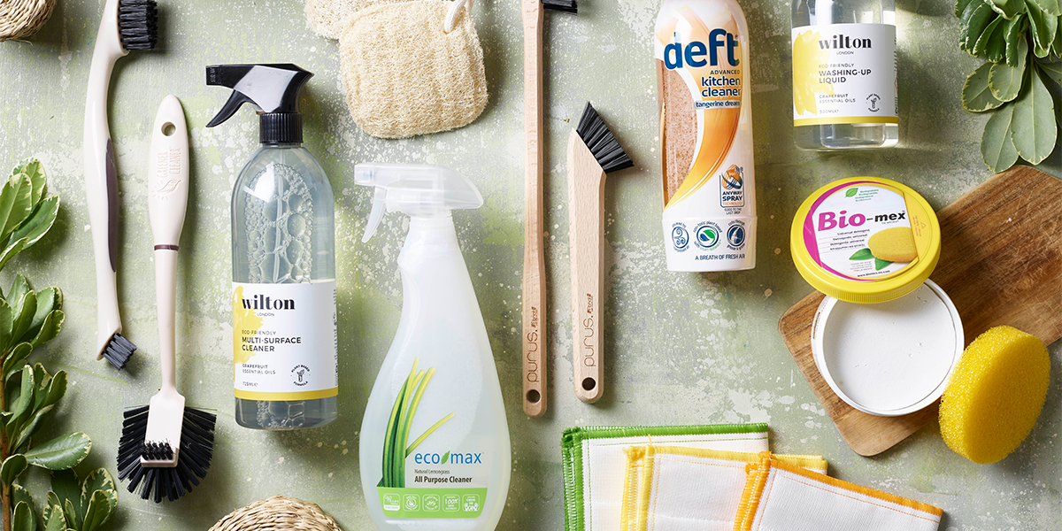Lakeland eco range cleaning products