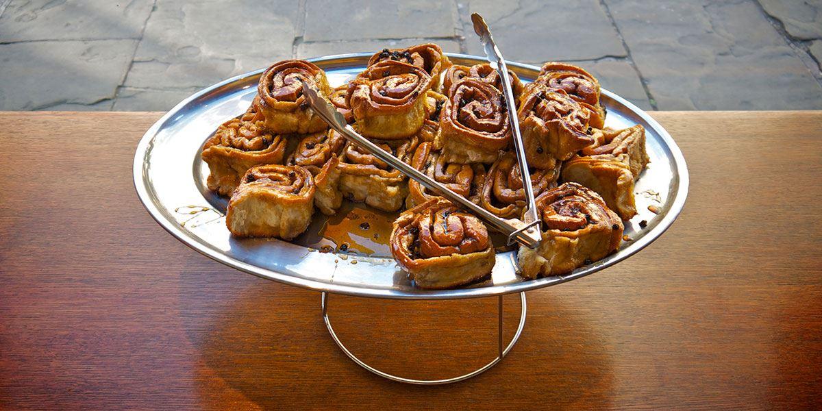 Fitzbillies sticky buns