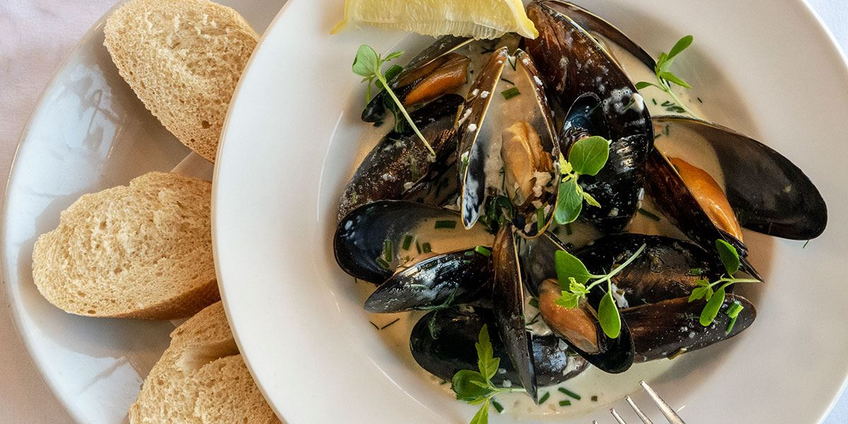 Mussels at Galleria