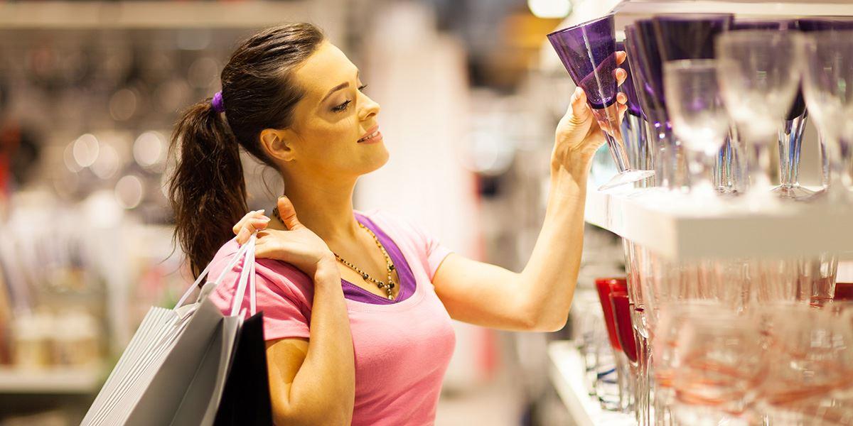 Homeware shopping
