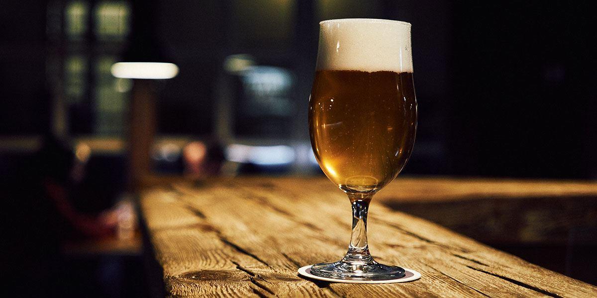 Third of beer