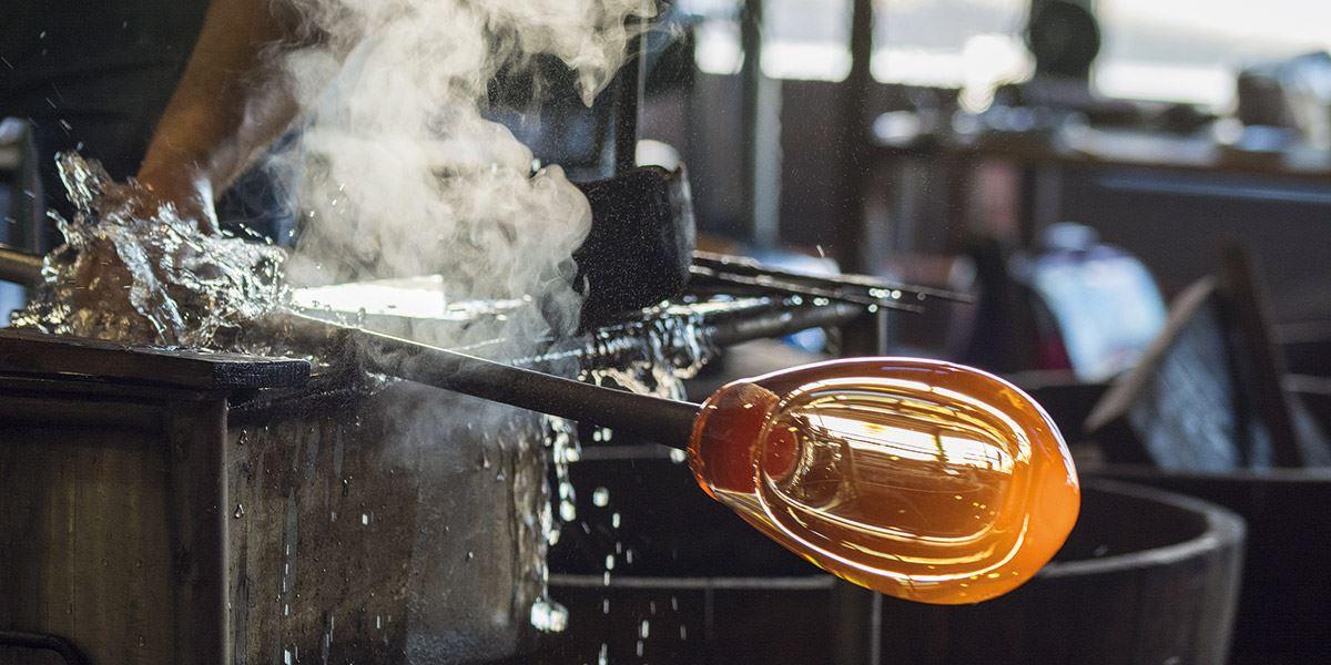 Glass workshop-art-culture