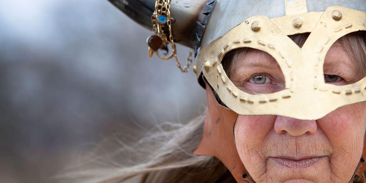 Viking lady