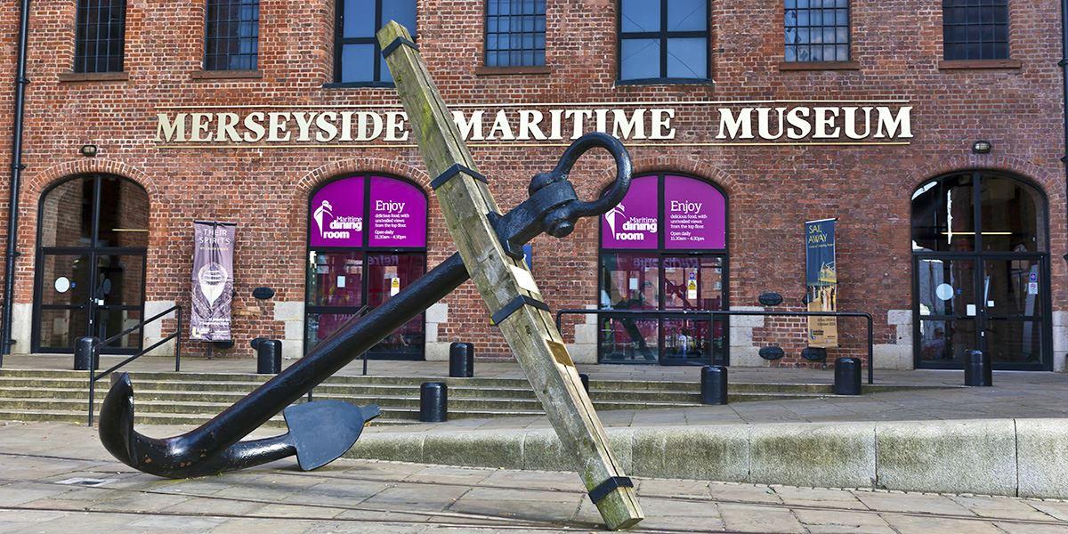 Merseyside maritime Museum Albert Dock Liverpool