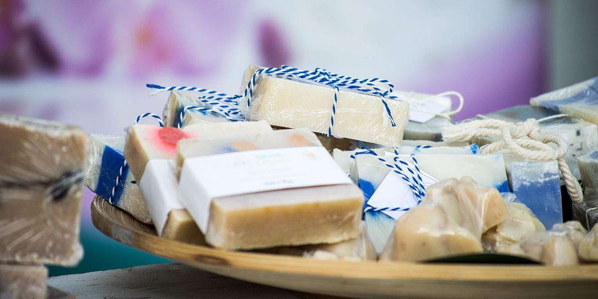 Hand-made soap