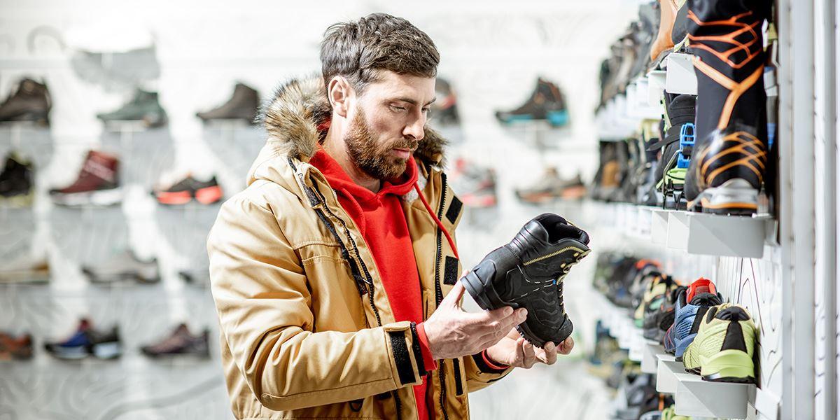 Outdoor shoe shop